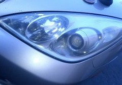 Headlight on Silver Car, Engine Repair in Temecula, CA