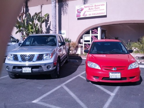Two Cars, Engine Repair in Temecula, CA
